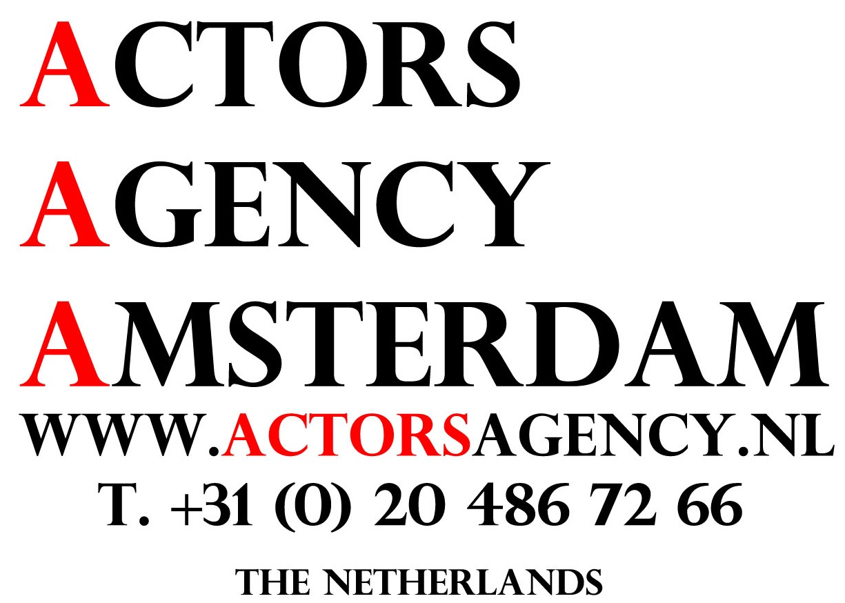 Actors Agency Amsterdam, The Netherlands.